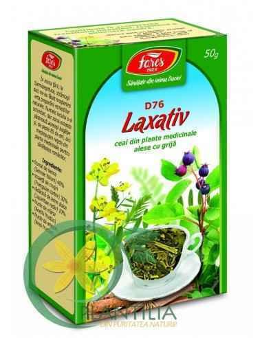 Ceai Laxativ D76 50 g Fares