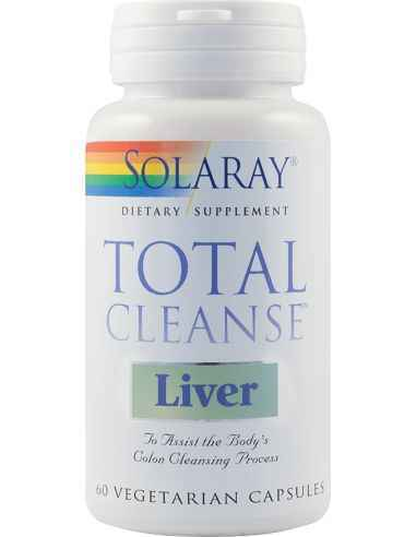 Total Cleanse Liver 60 capsule vegetale Solaray