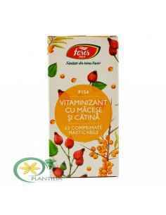Vitaminizant cu Macese si Catina F154 63cps Fares