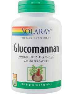 Glucomannan 600 mg Solaray