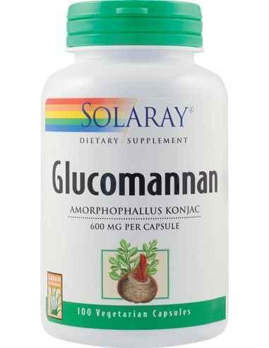 Glucomannan 600 mg Solaray Ajuta la mentinerea concentratiilor normale de colesterol si trigliceride din sange