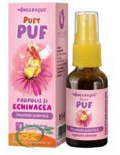 Pufy Puf Propolis si Echinacea Spray 20 ml Ingerasul Dacia Plant