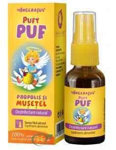 Pufy Puf Propolis si Musetel Spray 20 ml Ingerasul Dacia Plant