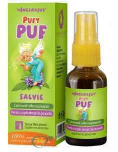 Pufy Puf Salvie Spray 20 ml Ingerasul Dacia Plant