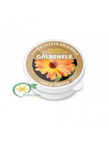 Balsam cu extract Galbenele 30ml Transvital Balsamul cu extract de galbenele ajuta pielea crapata, descuamata, fiind un bun adj