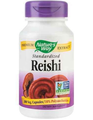 Reishi SE 188mg 100 capsule vegetale Nature's Way