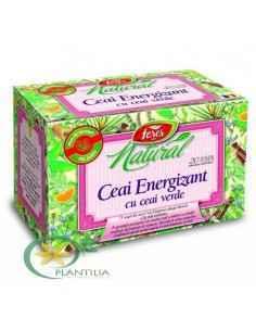 Ceai Energizant cu Ceai Verde 20 plicuri Fares