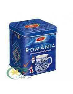 Ceai Suvenir Romania Albastru Fares