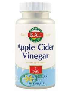 Apple Cider Vinegar (Otet de mere) 500mg 120 tablete Kal Secom