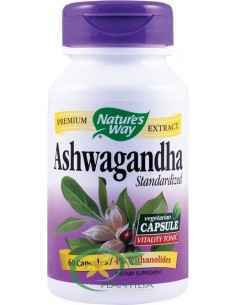 Ashwagandha (Ginseng Indian) SE 500mg 60cps Nature's Way Secom
