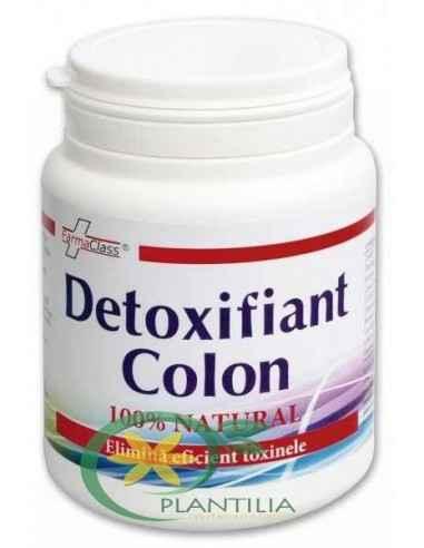 Detoxifiant Colon 100g FarmaClass Detoxifiant al colonului, reglator al tranzitului intestinal, laxativ, coleretic-colecistokine