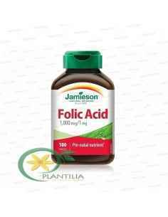 Acid Folic 1mg 100 tablete Jamieson