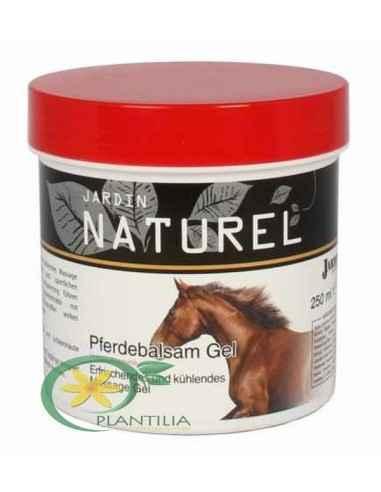 Gel Puterea Calului Pferdebalsam 250ml Jardin Naturel Combinația de extracte din plante, mentol, uleiuri de camfor si eucalipt e