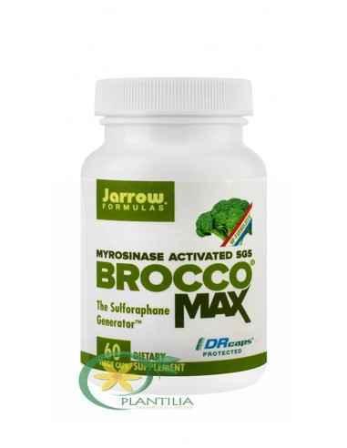 BroccoMax 60cps Jarrow Formulas Secom Ajuta la imbunatatirea structurii si a functiilor hepatice.