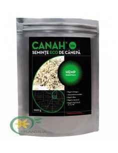 SEMINŢE DE CÂNEPĂ DECORTICATE BIO CANAH HEMP ESSENTIALS 1000 g