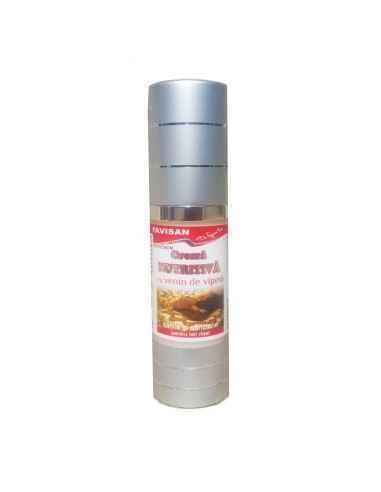 Crema nutritiva cu venin de vipera 30 ml Favisan, Crema nutritiva cu venin de vipera Reduce ridurile, hrănește, regenerează, hid