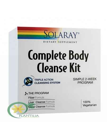 Complete Body Cleanse Kit Solaray Secom