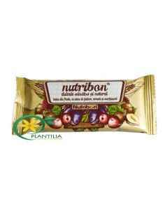 Baton cu Fructe si Alune Nutribon 24 buc Plantextrakt