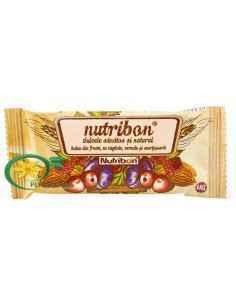 Baton cu Fructe si Migdale Nutribon 24 buc Plantextrakt