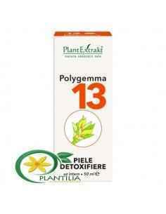 Polygemma 13 Piele Detoxifiere 50ml PlantExtrakt