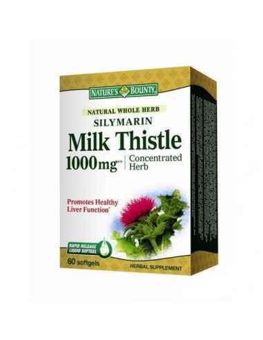 Silymarin Milk Thistle 1000mg 60 capsule Nature's Bounty