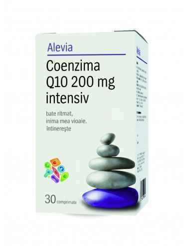 Coenzima Q10 200mg Antioxidant puternic pentru functionarea normala a inimii si a sistemului cardiovascular.