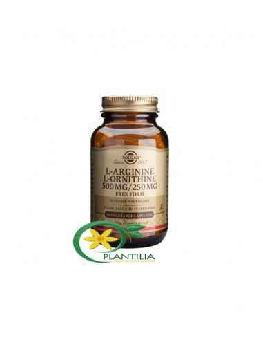 L-Arginine L-Ornithine 500/250 mg 50 capsule Solgar, L-Arginine L-Ornithine 500/250 mg 50 capsule Solgar Folosită în general de