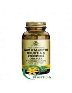 Saw Palmetto Opuntia si Lycopene Complex 50cps Solgar
