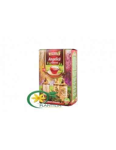 Ceai Angelica Radacina 50g AdNatura, Ceai Angelica Radacina 50g AdNatura Rădăcina de Angelica conţine ulei volatil în a cărui co