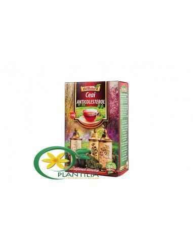 Ceai Anticolesterol 50g AdNatura, Ceai Anticolesterol 50g AdNatura Contine un amestec omogen in proportii variabile din parti de