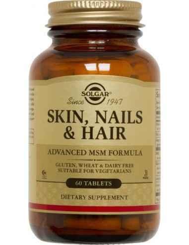 Skin Nails And Hair Formula 60tb (Pentru piele, unghii si par) SOLGAR Formulă avansată nutrițională creată pentru a contribui la