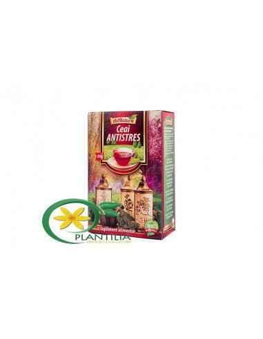 Ceai Antistres 50g AdNatura, Ceai Antistres 50g AdNatura Contine un amestec omogen din plante recunoscute in literatura de speci