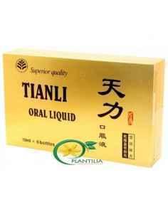 Tianli Original 6 Fiole, Tianli 6 (Capac Auriu) Fiole Sanye Intercom Este un produs natural pentru cresterea performanțelor sex