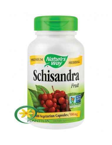 Schisandra 580mg 100 cps Secom, Schisandra 580mg 100 capsule Nature's Way Fruct cu proprietati benefice cu rol imunomodulator, a