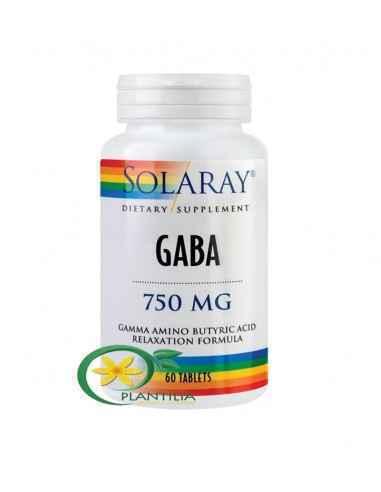 GABA 750mg 60 tablete Solaray