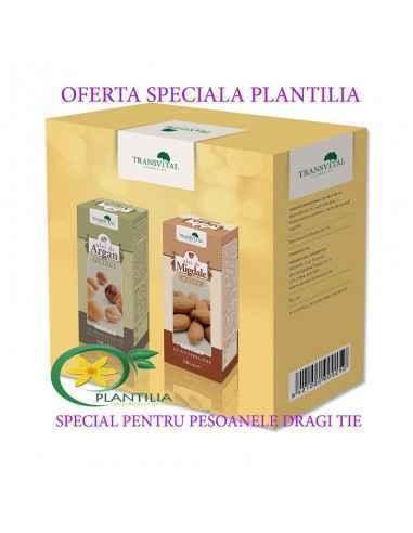 Pachet Promotional Ulei Argan 100ml+Ulei de Migdale dulci 100 ml Transvital
