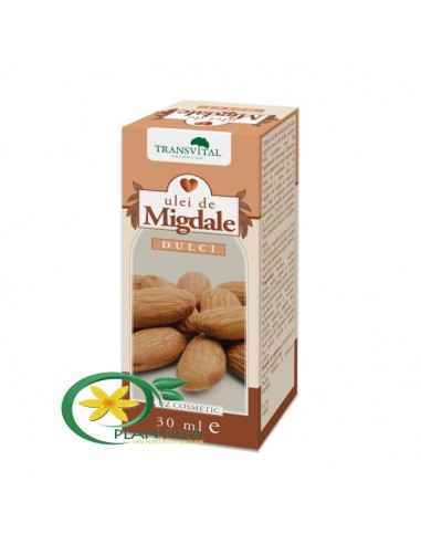 Ulei de Migdale dulci 30 ml Transvital În tratamentele de înfrumusețare, migdalele sunt considerate ingrediente principale, deo