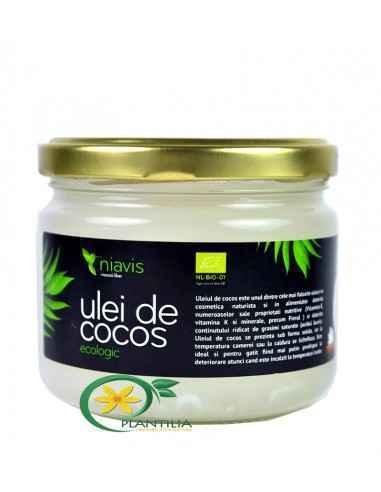Ulei de Cocos BIO 250 GR NIAVIS, Ulei de Cocos Virgin Ecologic (BIO) 250 GR NIAVIS Din compozitia uleiului de cocos fac parte vi