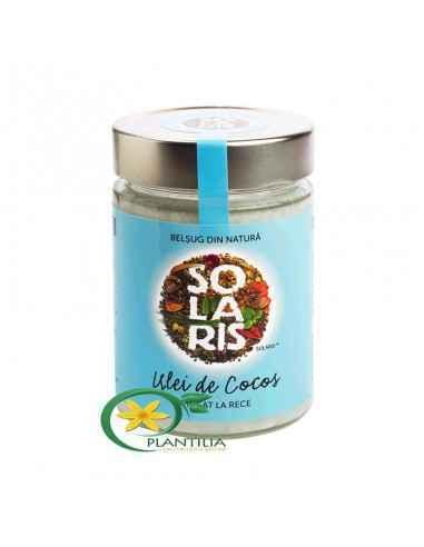 Ulei cocos presat la rece 300ml Solaris
