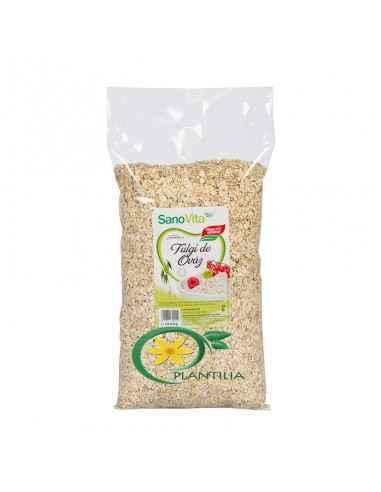 Fulgi de ovaz 1kg Sanovita, Fulgi de ovaz 1kg Sanovita  În fulgii de ovăz se găseşte o cantitate apreciabilă de fibre alimentare