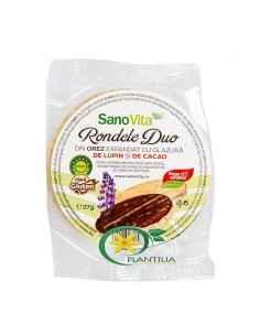 Rondele din Orez cu Glazura de Cacao 75g SanoVita