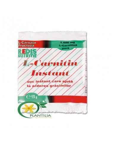 L-Carnitin Instant Redis  L-Carnitin Instant este un suc instant care ajuta la arderea grasimilor.