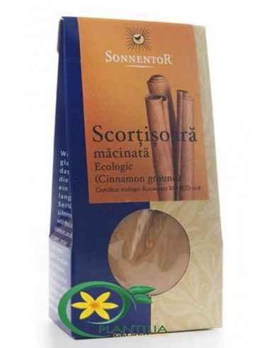 Scortisoara Bio Cassia Sonnetor  In bucătărie se foloseşte la prepararea deserturilor de fructe, precum a bucatelor savuroase di