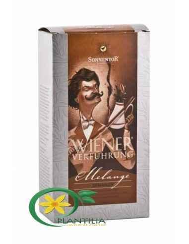 Cafea Bio Melange Macinata 500g Sonnentor, Cafea Melange Macinata Bio 500g Sonnentor Cafea Ispita Vieneza Melange macinata.Ames