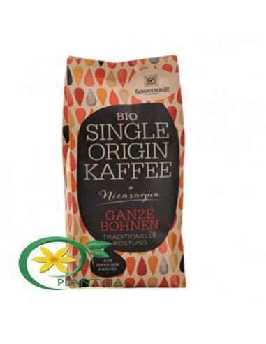 Cafea Bio Nicaragua Boabe 250g Sonnentor Această cafea, provenită dintr-un areal de cultivare din Nicaragua, se evidenţiază,