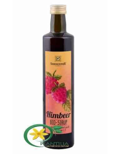 Sirop Zmeura Bio fara Zahar Sonnentor  Recomandat ca îndulcitor alternativ la ceaiuri sau deserturi precum budinca de orez, sala
