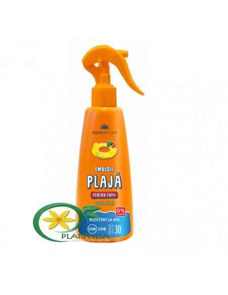 Emulsie plaja pentru copii SPF30 Cosmetic Plant