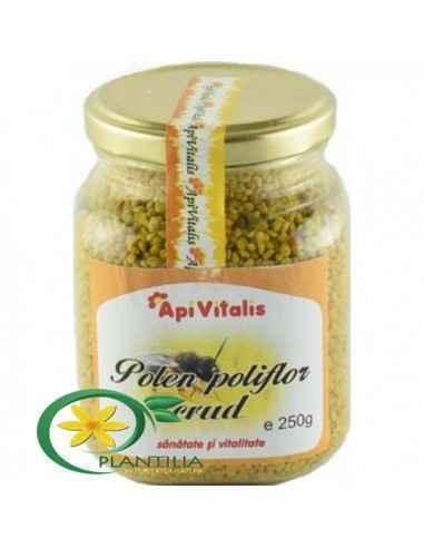 Polen crud 250g Apivitalis, Polen crud 250g Apivitalis-combate oboseala cronica și crește vitalitatea-carente de vitamine și min