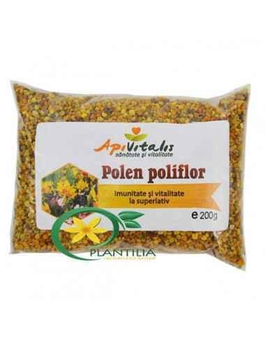 Polen Poliflor 200g Apivitalis Polenul uscat este considerat un super-aliment datorita continutului ridicat de enzime, antioxida