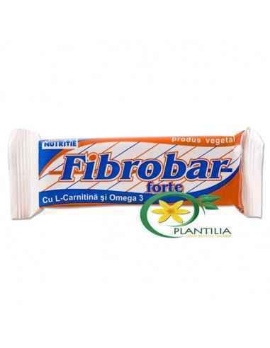 Fibrobar Forte 60gr Redis, Fibrobar Forte baton pentru slabit Fibrobar-forte este un baton proteic cu valoare energetica redusa